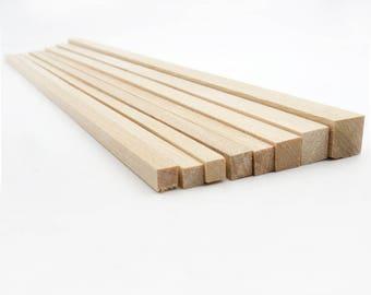 Square Dowels. Dowel Set. Craft Sticks. Model Making Supply. Wooden Dowels. Wood Sticks