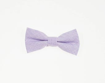 de MORÉ - lilac youngster bow tie