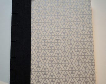 Coptic Stitch Watercolor Sketchbook Hand Bound 8 x 7 Inch