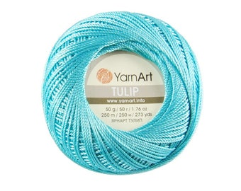 Tulip YarnArt MicroFiber turkish yarn for knitting Crochet yarn Micro Fiber yarn Summer yarn Hand knit yarn Color choice Amigurumi yarn art