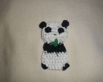 Crochet Panda applique