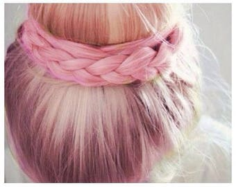 Baby Pink Pastel Salon Grade Hair Chalk * 1 Stick * Temporary Hair Color * Wash out Hair Dye