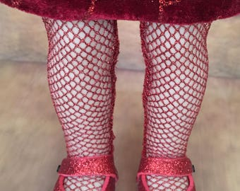 Fancy Tights' PATTERN for Wellie Wisher Dolls