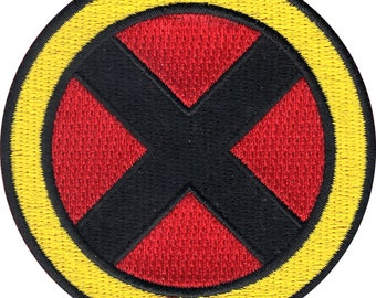 Official Star Marvel Universe Comics X-Men Wolverine Logo Iron On Embroidered Patch