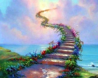 Stairway to Heaven Cross Stitch Pattern