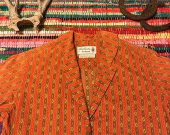 Adelaar's Aristocrat Paisley Vintage Button Down