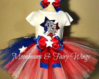 4th Of July Tutu,4th Of July Pageant Outfit,Girls 4th Of July Outfit,4th Of July Costume,Independance Day Tutu,Flag Tutu,American Flag Tutu