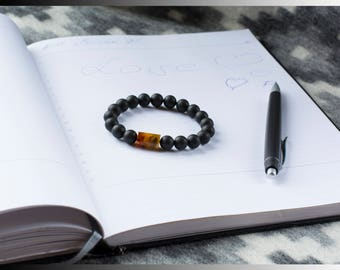 Baltic Amber Bracelet with Cylinder Amber