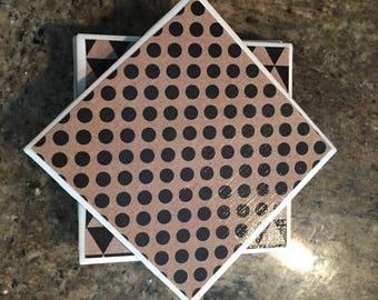 Geometric Coaster Set of 4