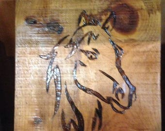 Tribal Horse Head