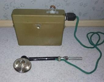 Vintage Military Lantern, USSR 1950s.