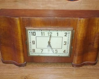 "Fireplace clock with a chime ""Vladimir"" USSR Vintage 1958."