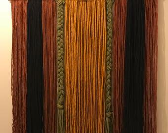 Handmade Yarn Tapestry