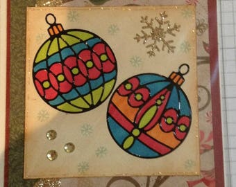 Ornaments / Christmas Card/ Holiday Card