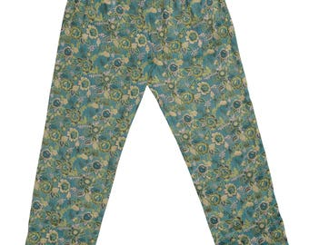 EMBROIDERED STRAIGHT TROUSER
