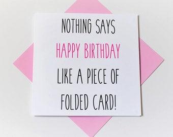 birthday card|funny|handmade|card for her|card for him|blank greetings card