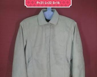 Vintage Lapis Rouge Jacket  Button Down Shirts Country Style Jacket Beige Colour Yohji Yamamoto Comme des Garcons Jacket YSL Jacket Designer