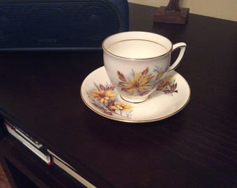 Tea cup and Saucer by Duchess Bone China