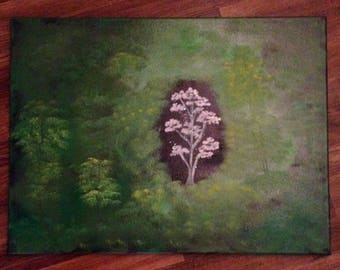 Forest Gem oil painting
