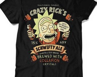 Crazy Rick's Ale Men's Women's T-Shirt