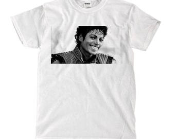 Michael Jackson thriller - White Shirt - Ships Fast! High Quality!