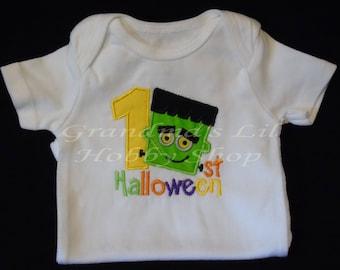 Frankie 1st Halloween Onesie Boy Costume