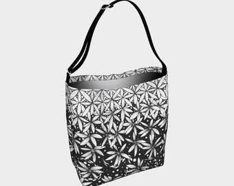 Floral Cascade Neoprene Day Bag/Tote