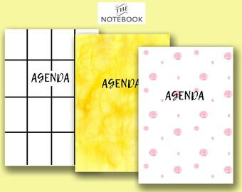 Agenda for scrapbooking