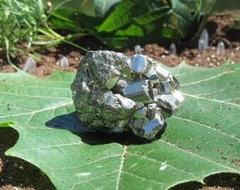Pyrite Cluster   Minerals of Peru  
