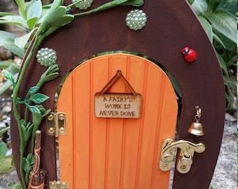 Fairy Door - 'A fairy's Work Is Never Done!'