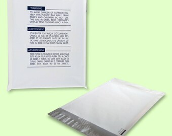 200 10x13 Poly Mailers Shipping Bags Self Sealing Envelope W Suffocating Warning