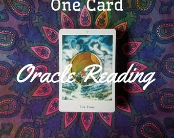 1 Card Oracle Reading