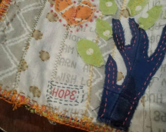 "Handsewn Bag ""Hope"""
