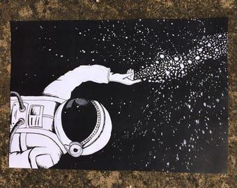 Astronaut Print