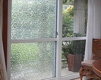 Pebbles Semi-Privacy Window Film