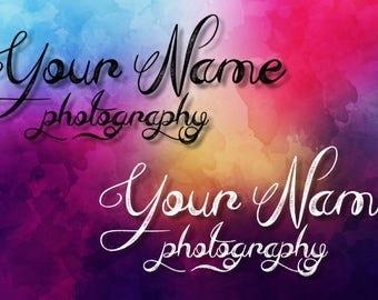 Custom Photography Logo/Watermark Design ~ Calligraphy