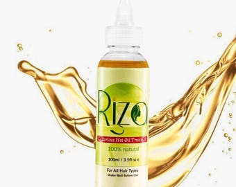 Hot oil treatment to treat dandruff, dry scalp, frizziness and promotes hair growth.