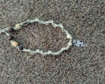 Serpent Dragon Hemp Necklace