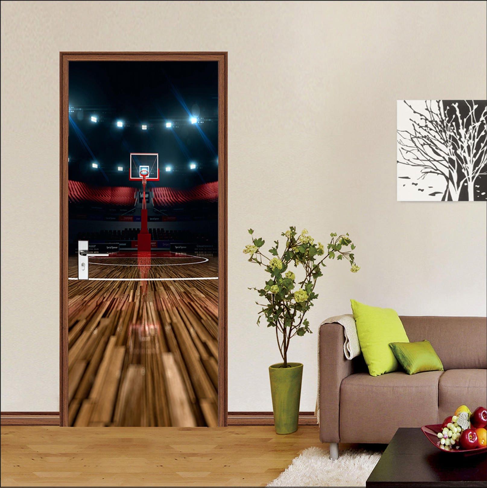 Basketball wall murals images home wall decoration ideas 3d basketball court 513 view mural door wallpaper mural wall print 3d basketball court 513 view amipublicfo Gallery