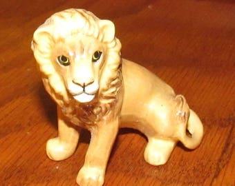 Vintage Hagen Renaker Miniature Lion Figurine