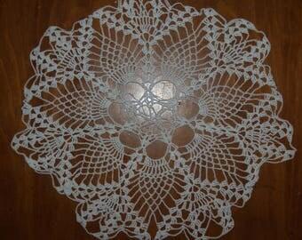 Handmade Doily, White Color Doily, Lace Doily, White Doily, Table Doily, SHABBY CHIC, Doily Crochet, Crochet Doily, Trendy Doily, Crochet