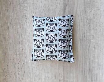 Happy pandas-catnip pillow cat toy