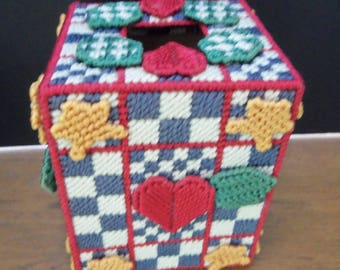 Country Tissue Box Cover