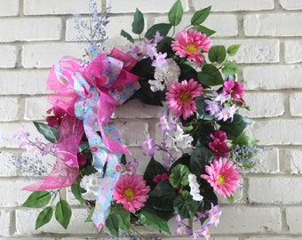 Summer Daisy Wreath