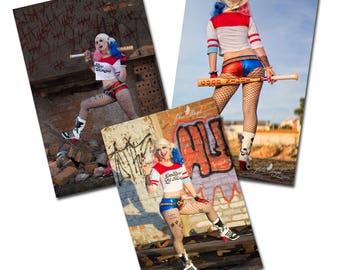 Harley Quinn SET: 3x Prints | 20x30cm