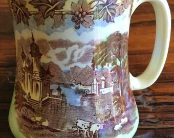 Vintage Coffee Mug - Maling Newcastle-On-Tyne  England