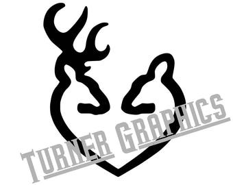 BROWNING HEART Vector ai, png, svg, jpg, eps downloadable zip file