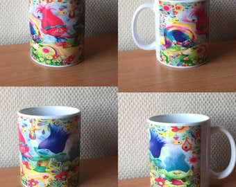 mug or Cup personalized with picture or foto disney design or other