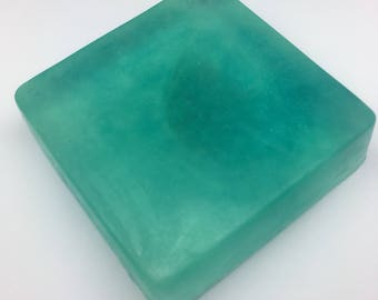 FRESHNESS - 100g handmade cucumber and melon glycerin soap