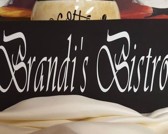 Personalized Bistro Sign